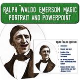 Ralph Waldo Emerson Magic Portrait Video & PowerPoint for Author Study