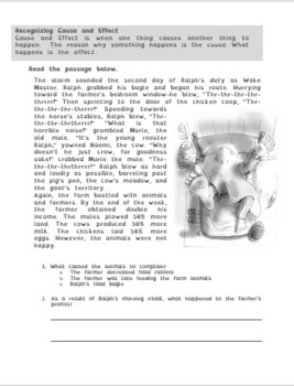 Ralph's Bugle Reading Strategy Workbook