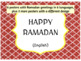 Ramadan Activities with Reading Passage, Task Cards, Puzzles & Posters