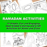 Ramadan Activities : Invitation to Color and Craft