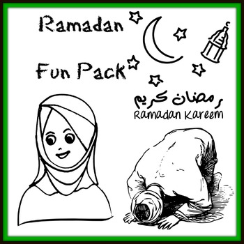 Ramadan Activities, Vocabulary Printables and Fun Worksheets Package
