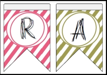 Ramadan Bunting for Decoration Coloful Version