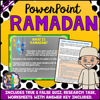 Ramadan Celebration PowerPoint (Additional 17 Pages of Activities Included)