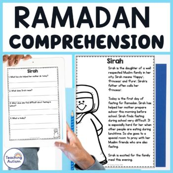 Ramadan Reading Comprehension Passages and Questions
