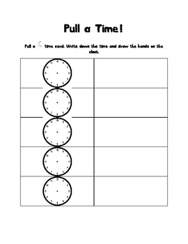 Ramadan Crescent Clocks! Telling time to the hour and half hour