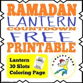 Ramadan Lantern Countdown FREE Printable