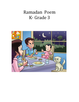 Ramadan Poem - K to Gr. 3