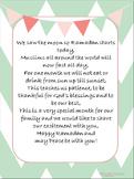 Ramadan Poem for Neighbors and Friends