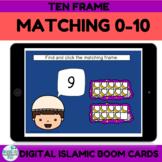 Ramadan Activities Ten Frames Boom Cards