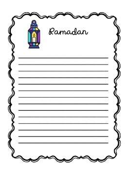 Ramadan Writing