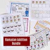Ramadan themed Addition centers