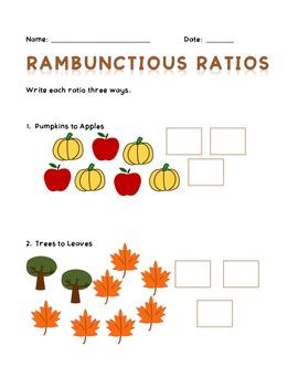 Rambunctious Ratios - Fall Edition