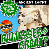 Was Ramesses Great? Students Decide! Ancient Egypt Writing & Literacy Activity