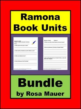 Ramona Book Study Bundle