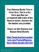 Ramona Books True or False Free Quiz