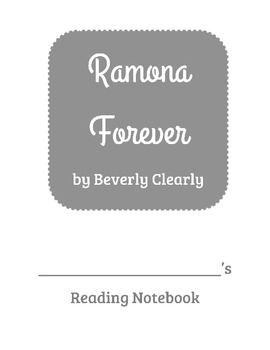 Ramona Forever Reading Comprehension Questions