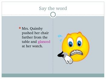 Ramona Forever Vocabulary Development