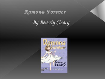 Ramona Forever, a Trophies Anthology Story, third grade