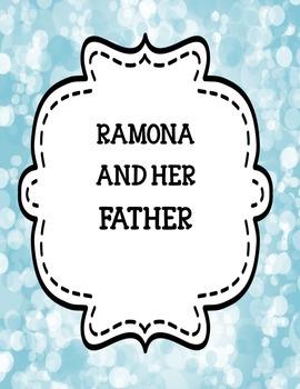Ramona ( series one ) Novel Study Bundle One