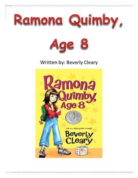 Ramona Quimby, Age 8 Comprehension