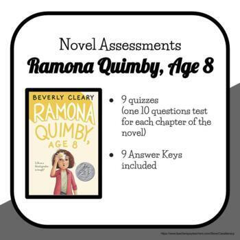 Ramona Quimby, Age 8 Chapter Quizzes