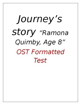 Ramona Quimby, Age 8 OST Style test