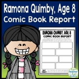 Ramona Quimby, Age 8 Project: Design a Comic Strip Book Report Activity