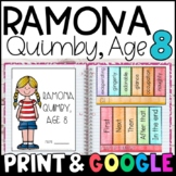 Ramona Quimby, Age 8 by Beverly Cleary: Complete Unit of Reading Responses