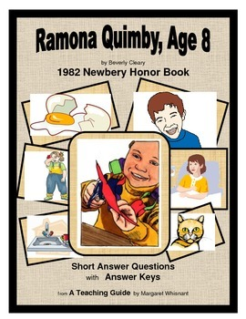 Ramona Quimby, Age 8  Short Answer Questions