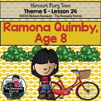 Ramona Quimby, Age 8 {Lesson 24}