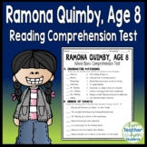 Ramona Quimby Age 8 Test: Final Book Quiz with Answer Key