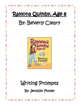 Ramona Quimby, Age 8 Writing Prompts