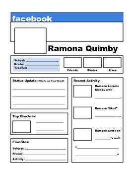 Ramona Quimby - Facebook