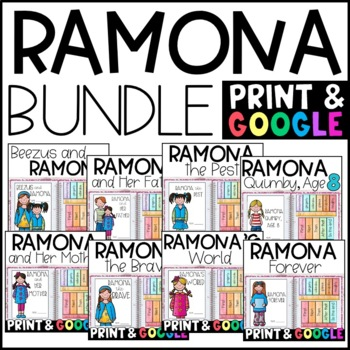 Ramona Quimby BUNDLE: Reading Responses for ALL 8 BOOKS!
