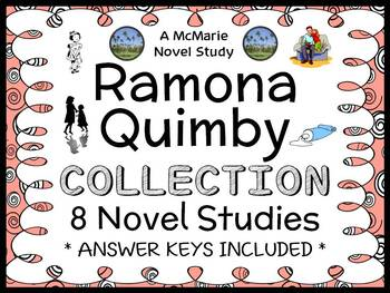 Ramona Quimby Ultimate Collection (Cleary) 8 Novel Studies / Comprehension