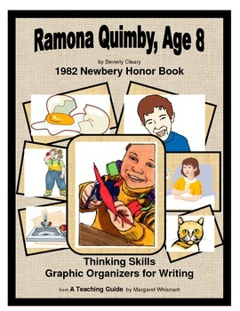 Ramona Quimby, Age 8 Thinking Skills and Graphic Organizers for Writing