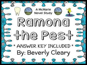 Ramona The Pest (Beverly Cleary) Novel Study / Reading Com