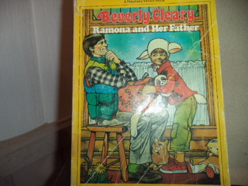 Ramona and Her Father ISBN 0-440-47241-5