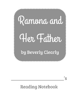 Ramona and Her Father Reading Comprehension Questions
