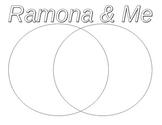 Ramona and Me Graphic Organizer-Venn Diagram