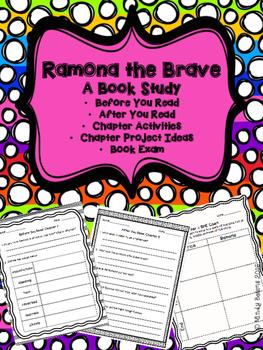 Ramona the Brave - A Book Study
