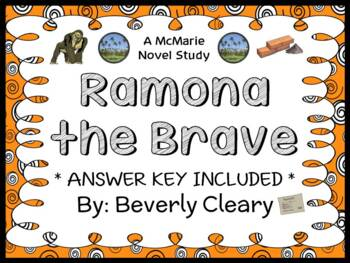 Ramona the Brave (Beverly Cleary) Novel Study / Reading Co