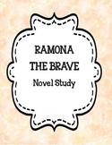 Ramona the Brave Novel Study Packet