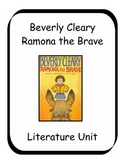 Ramona the Brave by Beverly Cleary Literature Unit