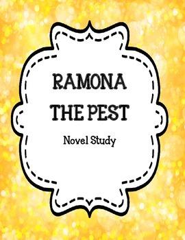 Ramona the Pest Novel Study Unit