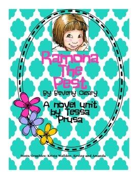Ramona the Pest Novel Unit
