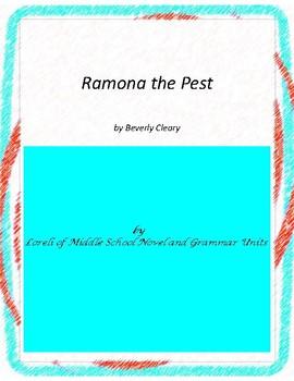 Ramona the Pest Literature and Grammar Unit