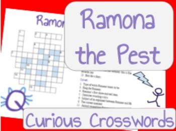 Ramona the Pest- Worksheet