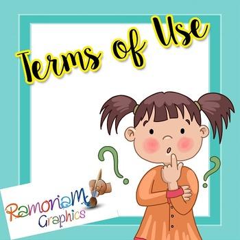 RamonaM Graphics Terms of Use