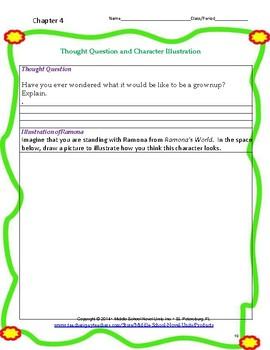 Ramona's World Literature and Grammar Unit